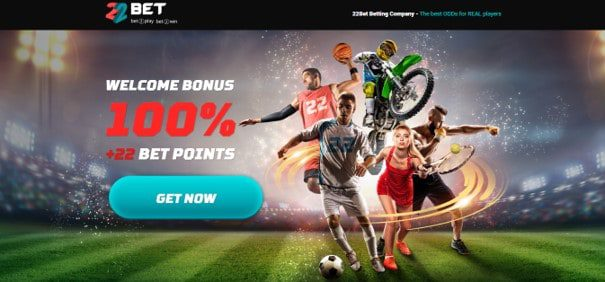 22bet landing page bonus offer - 22Bet Bookmakers Review