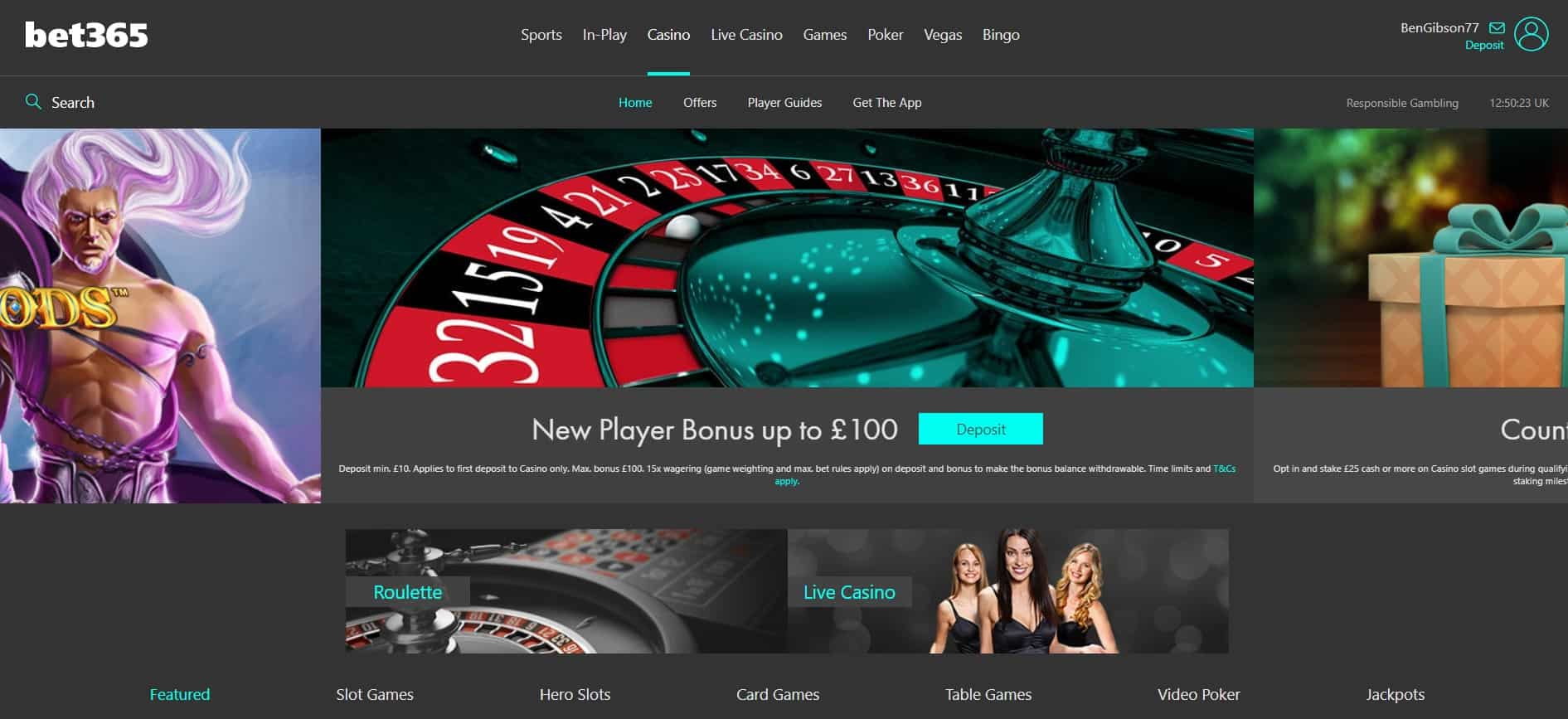 Bet365 Homepage Casino Bet365 Sports Review