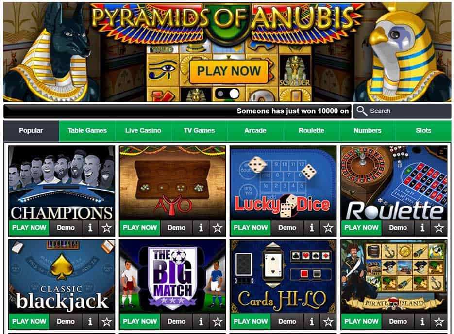 Casino Slots at Bet9ja Sports Betting Review