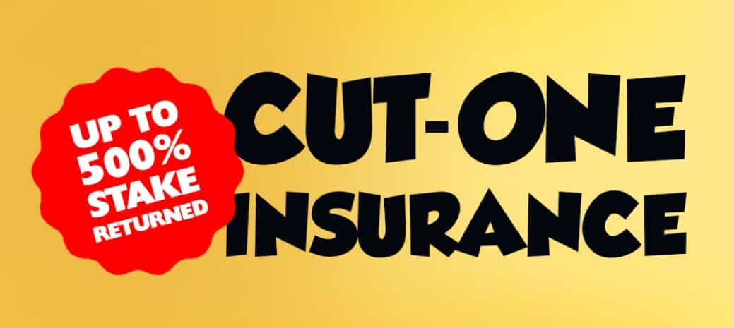 betfarm cut-one insurance offer