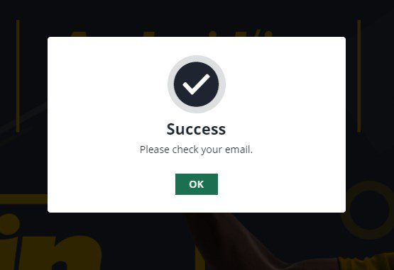 betfarm registration process step3
