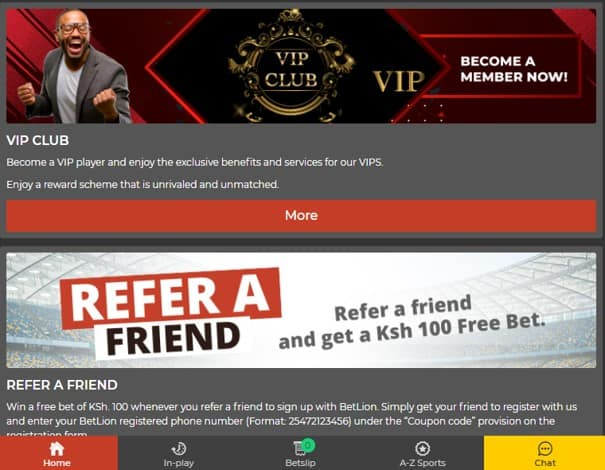 betlion promotional offers