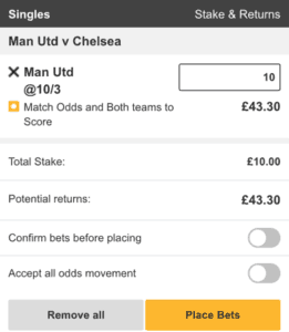 betfair both teams to score 4