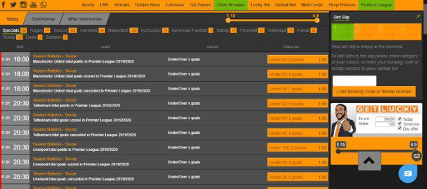 merrybet bet limits, markets, and odds - Merrybet Sports Review