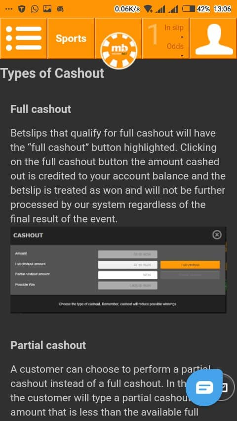 merrybet cashout mobile
