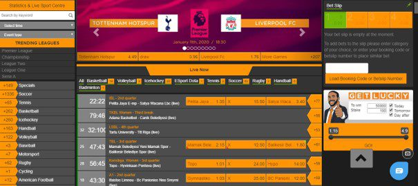 merrybet design and usability - Merrybet Sports Review