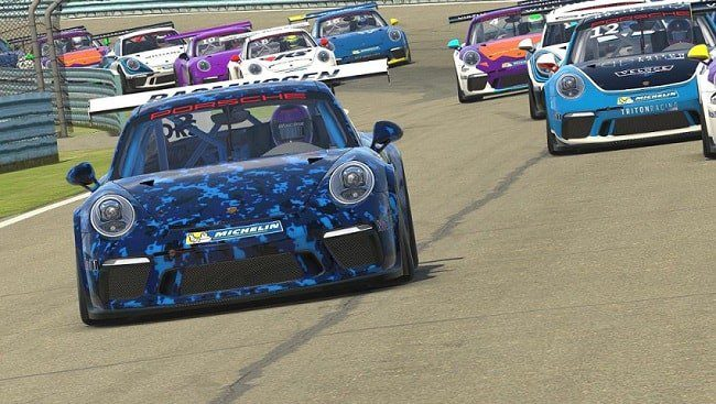 Porsche in a motor race- Virtual Sports Betting Guide